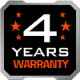 Gigabyte 4 years warranty 80px