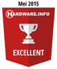 HWI Excellent Award - Mei 2015