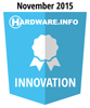 HWI Innovation Award - November 2015
