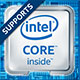 Supports Intel inside