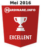 HWI Excellent Award - Mei  2016