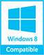 Microsoft Windows 8 compatible