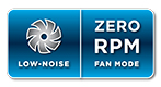 Corsair: Zero RPM fan mode