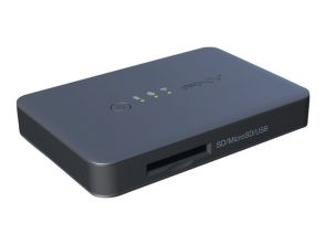 PNY Wireless Media Reader - Netwerkmedia streaming-adapter